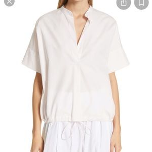 NWT Vince Popover Cotton Top Large